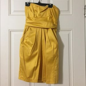 💥A'gaci Sexy Yellow  Dress